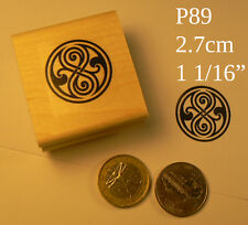 Time lord, seal of rassilon rubber stamp P89