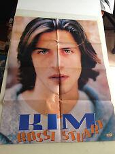 doppio poster: kim rossi stuart - brad hawkins alleg. rivista cioè