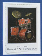 aab handmade greetings / birthday card PEARL EXPORT DRUMS