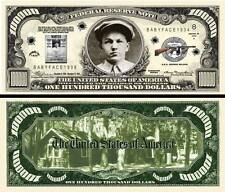 Baby Face Nelson $100,000 Dollar Bill Collectible Funny Money Novelty Note
