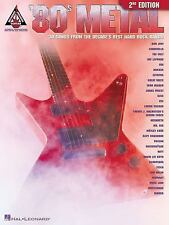 '80S METAL 2ND EDITION (Guitar Recorded Versions) by Hal Leonard Corp.
