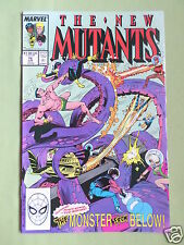 THE NEW MUTANTS- MARVEL COMIC - VOL 1  #76 - JUNE 1989