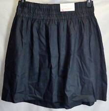 Liz Lange Maternity Skirt Medium Full Black New Womens 4967