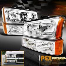 2003-2006 Chevy Silverado Factory STyle 1500 2500HD Headlights W/ Signal Light