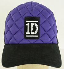 One Direction 1D Purple Black mesh trucker  adjustable baseball hat cap