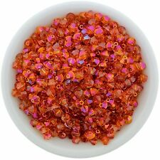 Swarovski Crystal 5328 XILION Bicones 4mm - CRYSTAL ASTRAL PINK (24 PCS)