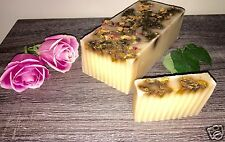 Hand Made in HAWAII- Rose Petal, Rose Hip & Orchid Soap - 2.5Lbs Loaf