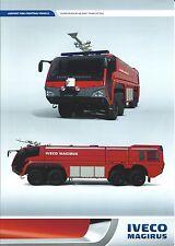 Fire Equipment Brochure - Iveco Magirus - Superdragon x8 - Airport 19K (DB238)