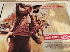The Bad Education Movie Original Uk Quad Poster