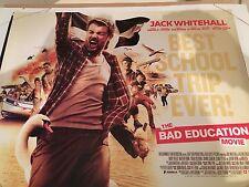 The Bad Education Movie Original Uk Quad Poster