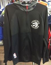NBA Toronto Raptors FZ Track Jacket Basketball Small Adidas Hoodie Pre Game New