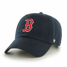 Boston Red Sox 47 Brand MLB Strapback Adjustable Dad Cap Hat Navy Home Clean Up