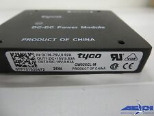 TYCO CW025CL-M, 25W ISOLATED MODULE DC DC CONVERTER, IN:DC 36-75V, 0.92A