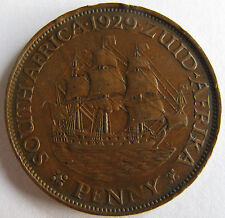 South Africa 1929 penny