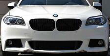BMW 5 Series F10 Matte Flat Black Kidney Euro Sport Front Hood Grill M M5 11-15