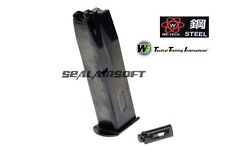 WE 25rds Gas Airsoft Toy Magazine For KJW Marui M9 M92 M92F GBB STELL VER. 068