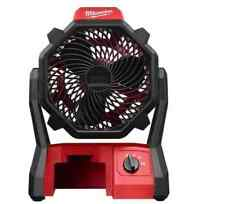 Milwaukee M18 18-Volt Li Lithium-Ion Cordless &AC Power Jobsite Fan-Run 17 Hours