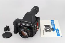 Mamiya 645 Pro with 80 mm lens + SV AE Prism Finder from Japan Excellent++++!!!