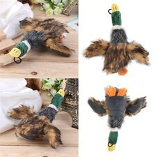 Cute Pet Dog Puppy Stuffed Squeaking Toy Plush Honking Duck Puppy JL