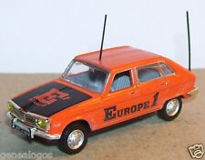 UNIVERSAL HOBBIES UH idem NOREV METAL HO 1/87 RENAULT 16 R16 T 1969 EUROPE 1