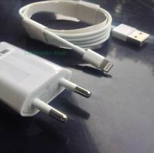 LIGHTNING 8-PIN USB CABLE + USB WALL CHARGER COMPATIBLE APPLE IPHONE & IPOD