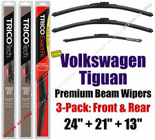 Wipers 3pk Premium Front Rear - fit 2009-2016 Volkswagen Tiguan - 19240/210/13G