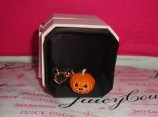 New Juicy Couture Pumpkin Charm wear on Bracelet/Necklace or handbag