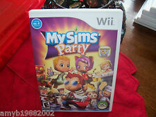 My Sims Party (Wii, 2008) EUC