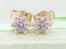 Diamant Brillant Ohrstecker 585 Gelbgold 14Kt Gold 0,50ct Brillanten