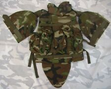 US MILITARY TACTICAL AIRSOFT PAINTBALL PLATE CARRIER COMBAT OTV COMBAT VEST CAMO