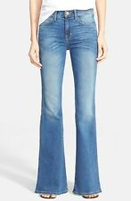 CURRENT/ELLIOTT The Girl Crush Light Faded Wash Flared Wide Leg Jeans Size 25