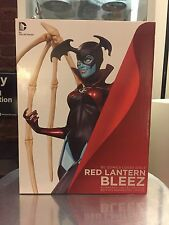 RED LANTERN BLEEZE Cover Girls Statue / DC COMICS JUSTICE LEAGUE Green Lantern