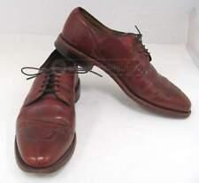 ALLEN EDMONDS `Delray` Brown Leather Split Toe Dress Shoes Sz 9D