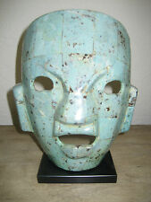 Mexican Tribal Warrior Burial Mayan Mask