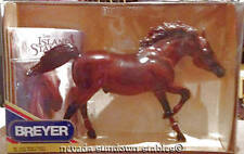Breyer Model Horses The Island Stallion Flame with his Book