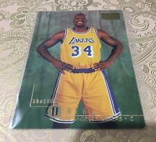 SHAQ SHAQUILLE O'NEAL 1996-97 SKYBOX PREMIUM #58 RUBY RUBIES PARALLEL LAKERS