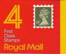 GB 1987 18p Window Booklet GC1 'A'