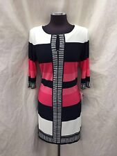 Sandra Darren Dress/NEW WITH TAG/RETAIL$129/JERSEY FABRIC/SIZE 6/LENGTH 37""