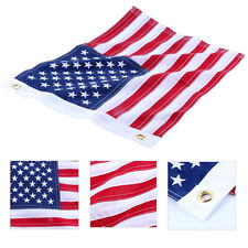 "12""x18"" Yacht Marine Boat Ensign Nautical USA US American Flag -Sewn/Embroidered"