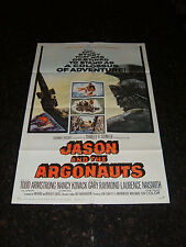 "JASON AND THE ARGONAUTS Original 1963 Movie Poster, 27"" x 41"", C8 Very Fine"