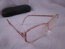 Vintage SILHOUETTE Rx Eyeglasses SPX M1793 Gold Amber Butterfly Plastic Frames