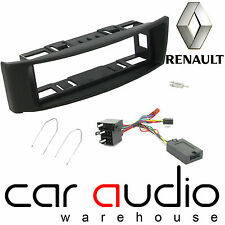 Renault Megane Upto 06 Car Stereo S/Din Fascia Steering Wheel Interface CTKRT02
