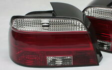 LED BAR RÜCKLEUCHTEN HECKLEUCHTEN SET f. BMW 5er E39 LIMOUSINE ROT KLAR LIGHTBAR
