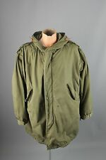 Vtg Men's Korean War M-51 + Liner Fishtail Parka sz M Coat US Army 1953 #2277