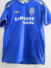 Chelsea 2005-2006 Home Football Shirt Size xL boys jersey /39776