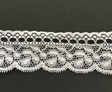 Vintage Lace.  Intricate Design French Nylon Lace by the yard.
