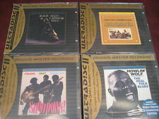 MFSL BLUES SET HOWLIN WOLF CRAY COLLINS SONNY & BROWNIE JIMMY REED SPECIAL 4 CDS