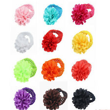 Kids Girl Baby Toddler Headband Lace Flower Hair Band Accessories Headwear 10PCS