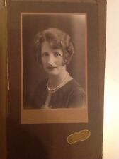 Sydney Australia Vintage Photograph Of A Woman 1929  Crown Studios
