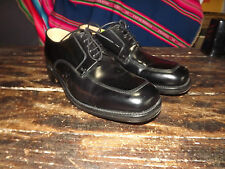 BARELY USED LOAKE BLACK MENS SHOES SIZE 7 F MADE IN ENGLAND EXCELLENT CONDITIO